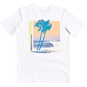 Quiksilver Lazy Sun T-shirt Heren, snow white